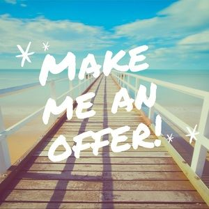 All reasonable offers are considered!